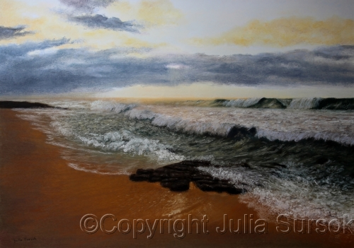 Approaching Storm by Julia Sursok