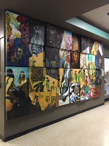 Mural IUP - Advanced Painting Class Project