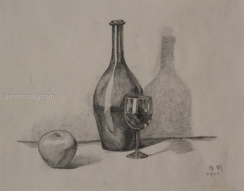 Intro to Drawing - Still Life
