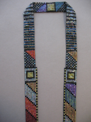 Diagonals, strap detail (large view)