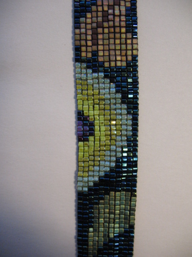 Posies, strap detail (large view)