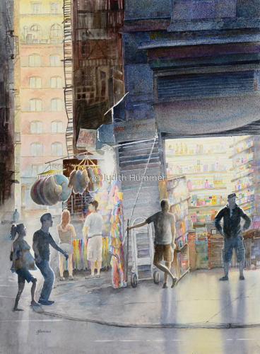 Canal Street by Judith Hummer