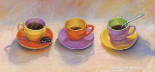 3 CUPS & AN OREO