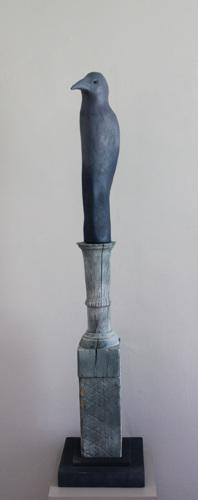 Bird Totem II by Judith Veeder