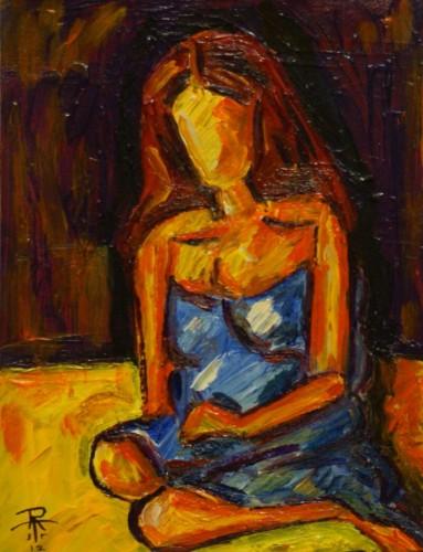 Judy Kneeling