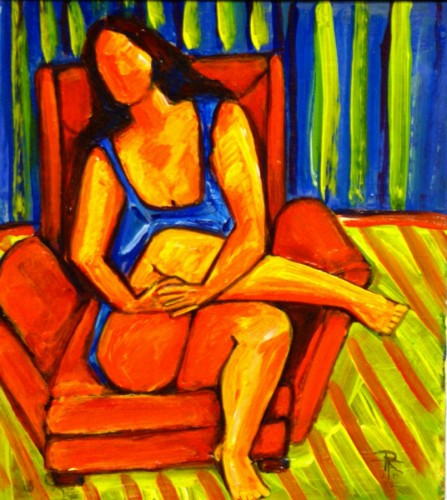 Seated: The Red Chair
