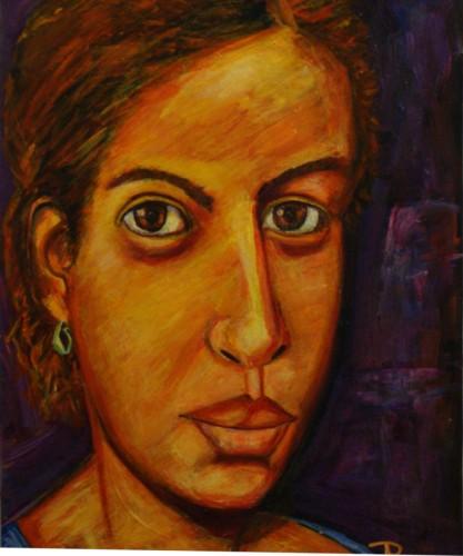 Portrait of Maude