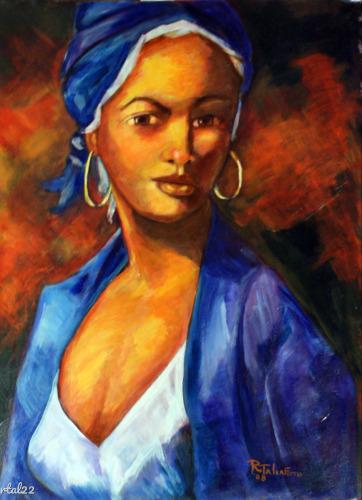 Enchantress in Blue