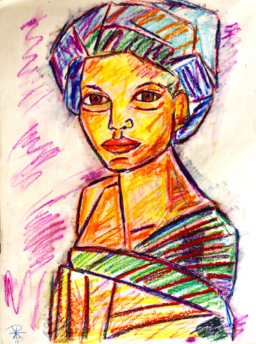 Turbaned Woman