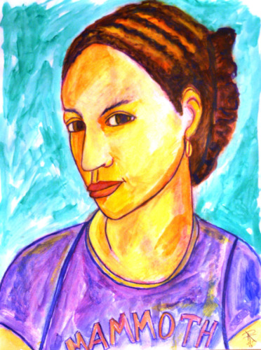Portrait of Maddy by Judy Livingston