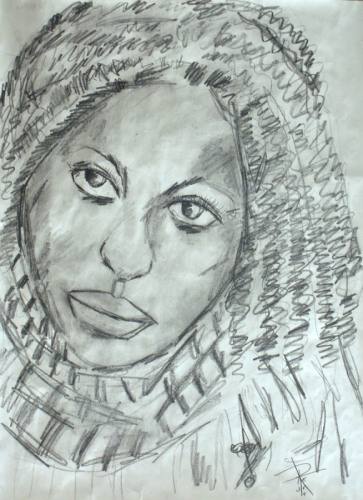Sketch of a Black Woman