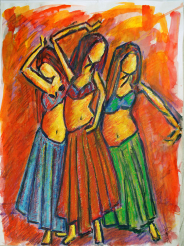Three Women Dancing