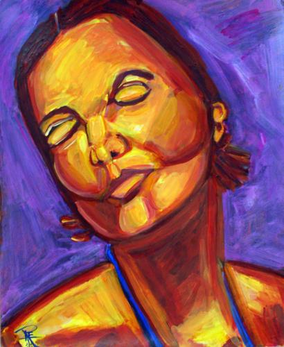 Portrait of a Woman: Angela