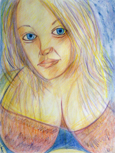 Portrait of a Young Woman: Karie