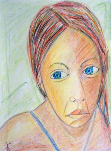 Portrait of a Young Woman: Megan