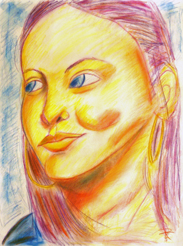 Portrait of a Young Woman: Heather