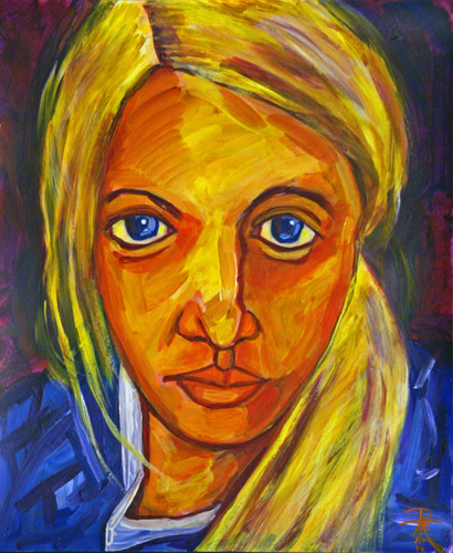 Portrait of a blond: Karie