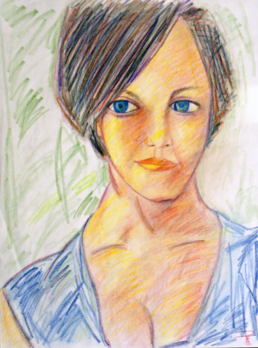 Portrait of Whitney