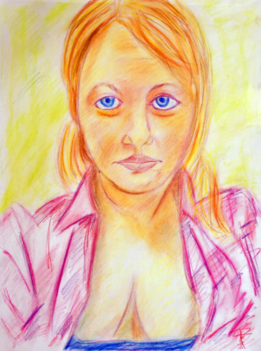 The Pink Blouse: Portrait of Karie