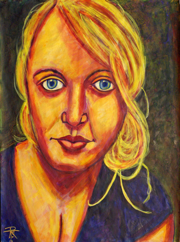 The Blond (A Portrait of Karie)