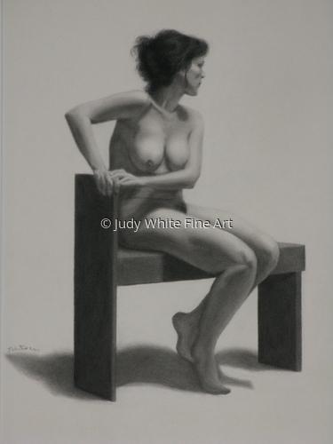 Silviya on the Artist's Bench