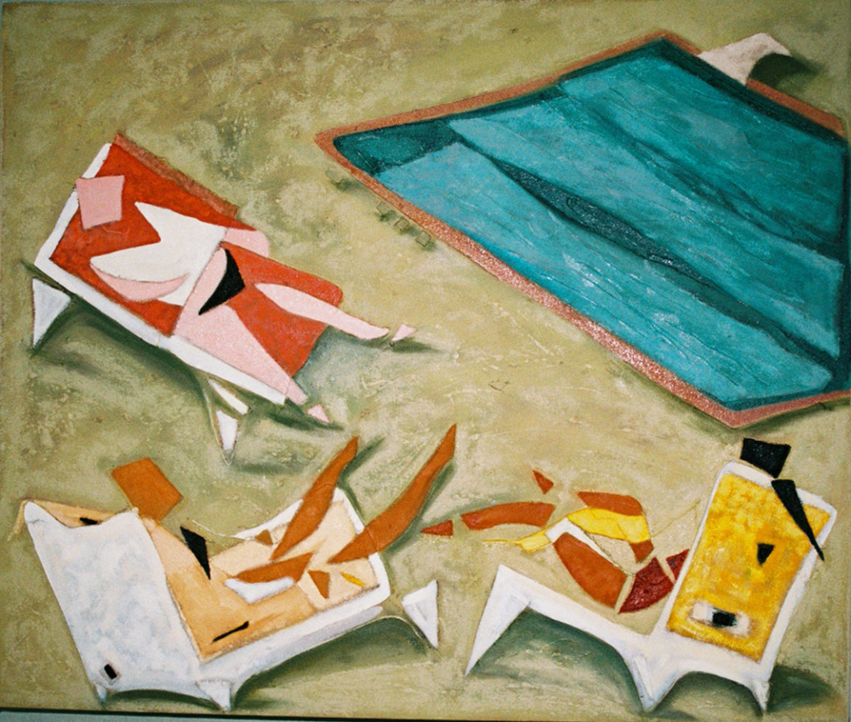 Poolside  1 2007 (large view)