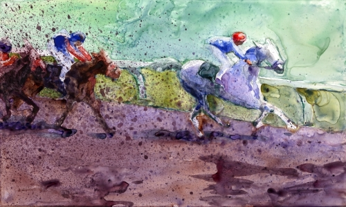 Going For it! by Judy Evenson