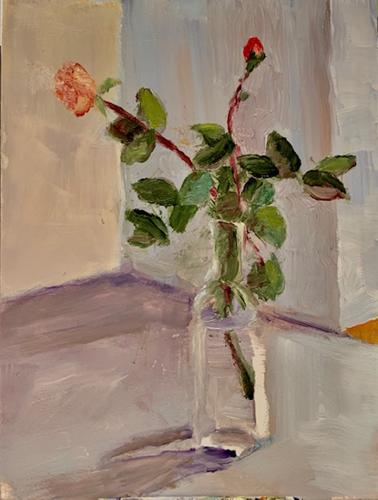 2 Winter Roses