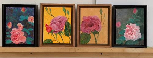4 Rose Portraits