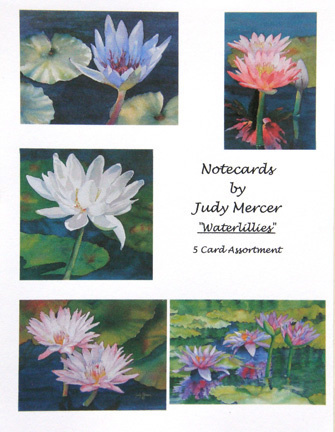 Waterlilies Notecard Assortment (large view)