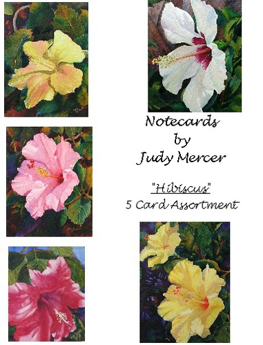 Hibiscus II Notecards (large view)