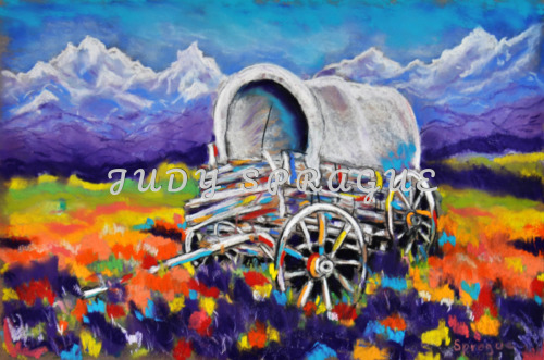 Covered Wagon Left Behind