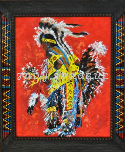 Arapaho Dancer (With Frame)