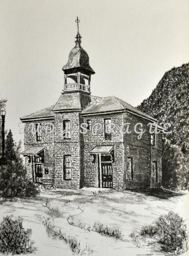 OLD ROCK SCHOOLHOUSE