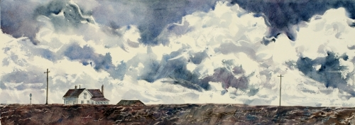Wide Open by Judy Thompson Watercolors