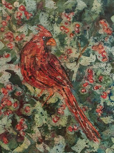 Scarlet Visitor