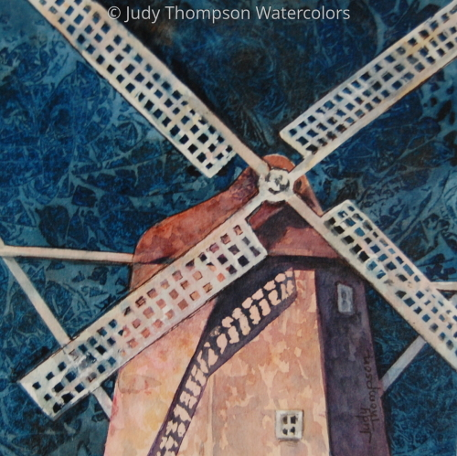 Windmill Vignette