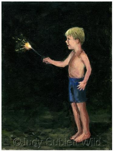 First Sparkler