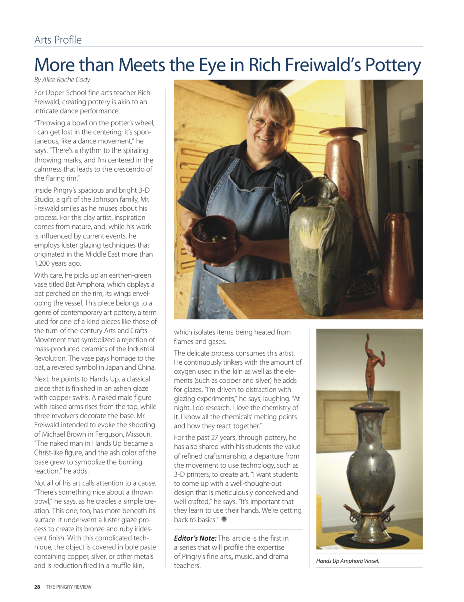 Richard Freiwald Art Profile (large view)