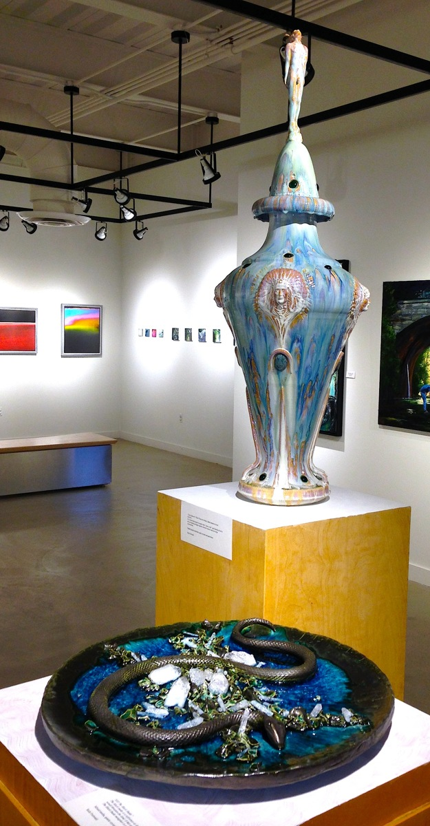 Hostetter Art Gallery Show (large view)