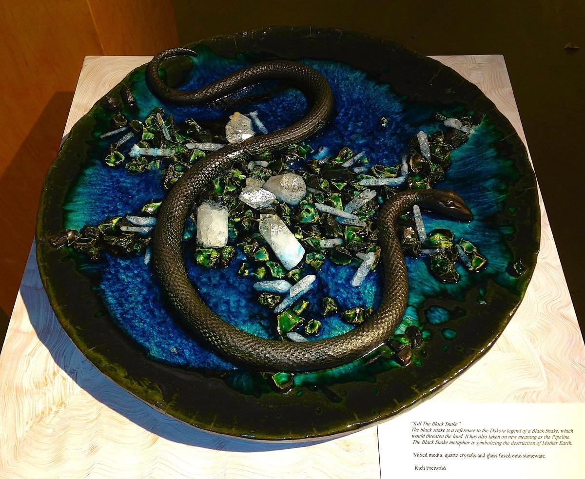 """""""Kill The Black Snake"""" NoDAPL (large view)"""