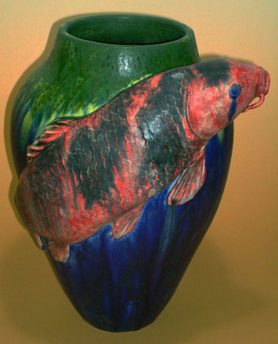 Koi Amphora