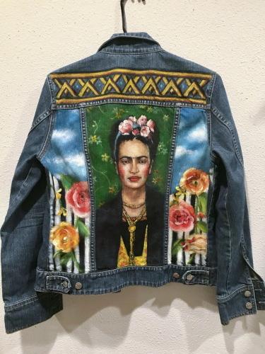 Frida on Denim