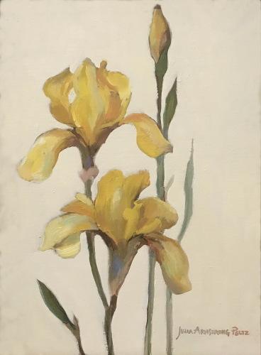 Gold Irises