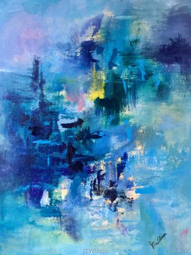 Cerulean Symphony by Julia Thornton Wilson