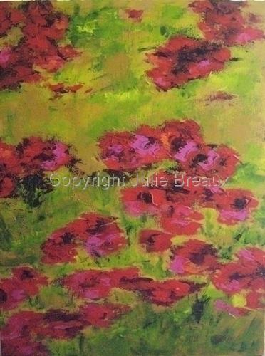 Poppy Fields of Reds