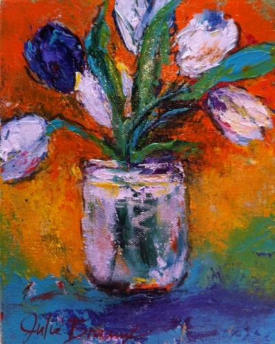 The Purple Tulip