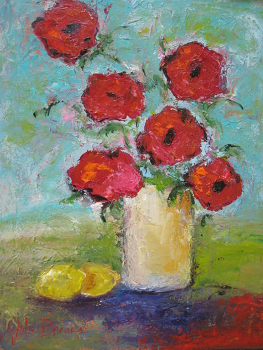Lemons and Poppies