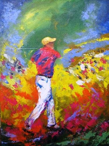 Frank the Golfer