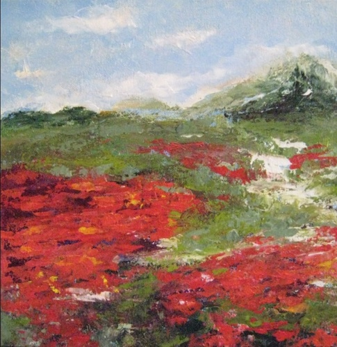 Poppy Field Of Reds